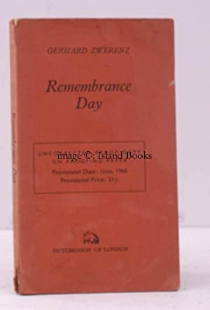 Remembrance Day. Thirteen Attempts in Prose to adopt an Attitude of Respect. Translated from the ...