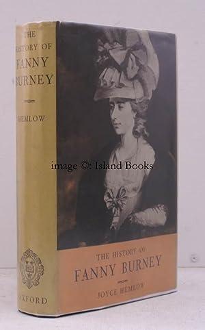 The History of Fanny Burney.: Fanny BURNEY). Joyce HEMLOW