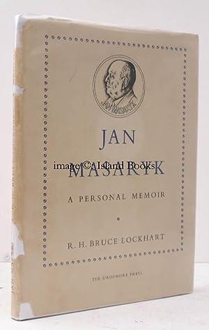 Jan Masaryk. A Personal Memoirs. 100 COPIES: R.H. Bruce LOCKHART
