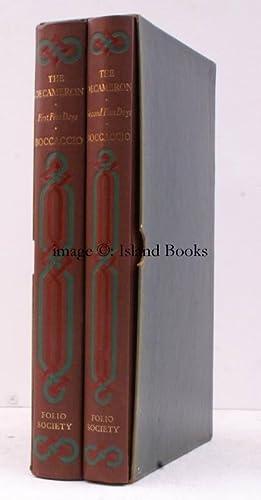 The Decameron of Giovanni Boccaccio. Translated by Richard Aldington. With Aquatints by [John] ...