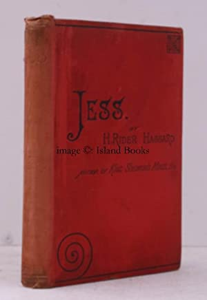 Jess. IN PUBLISHER'S CLOTH: Henry Rider HAGGARD