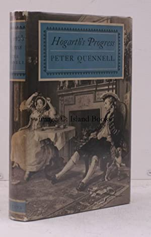 Hogarth's Progress. IN UNCLIPPED DUSTWRAPPER: Peter QUENNELL