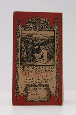 Ordnance Survey Contoured Road Map of Bridgwater and District. Popular Edition. One Inch. Sheet 1...