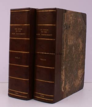 A Commentary on the New Testament. Volume the First [with] Volume the Second. COKE'S NT ...