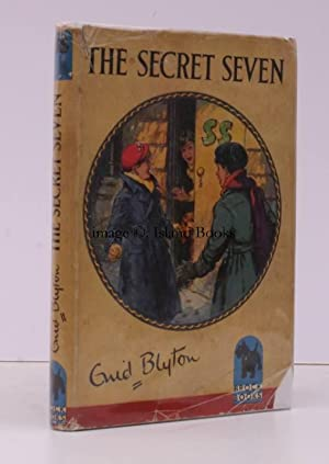 The Secret Seven. Illustrations by George Brook. IN THE DUSTWRAPPER
