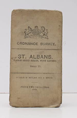 Ordnance Survey. St. Albans. (Large Sheet Series with Layers). Sheet 29. Scale: Two Miles to One ...