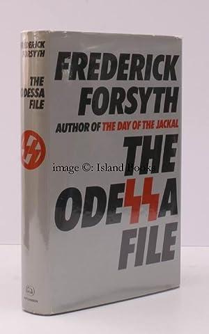 The Odessa File. NEAR FINE COPY IN UNCLIPPED DUSTWRAPPER: Frederick FORSYTH