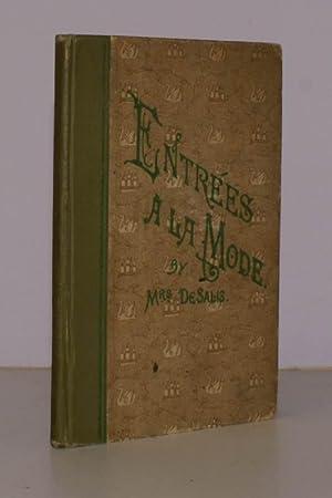 Entrees a la Mode. Thirteenth Impression.: Mrs. H.A. DE SALIS