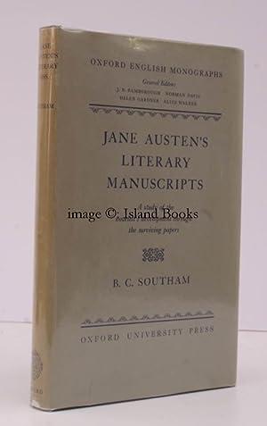 Jane Austen's Literary Manuscripts. A Study of: Jane AUSTEN). B.C.