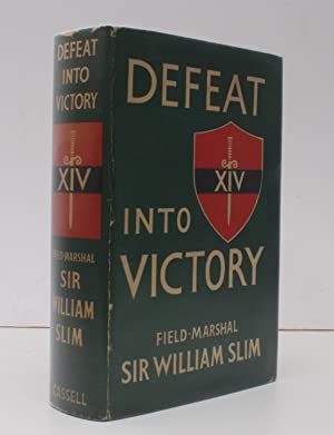 Defeat into Victory. NEAR FINE COPY IN UNCLIPPED DUSTWRAPPER: Field-Marshal William SLIM
