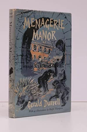Menagerie Manor. With illustrations by Ralph Thompson. BRIGHT COPY IN UNCLIPPED DUSTWRAPPER: Ralph ...