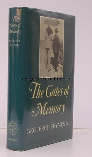 The Gates of Memory. NEAR FINE COPY IN UNCLIPPED DUSTWRAPPER: Siegfried SASSOON). Geoffrey KEYNES