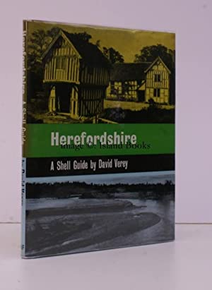 Herefordshire. A Shell Guide. NEAR FINE COPY IN UNCLIPPED SECOND STATE DUSTWRAPPER: David VEREY
