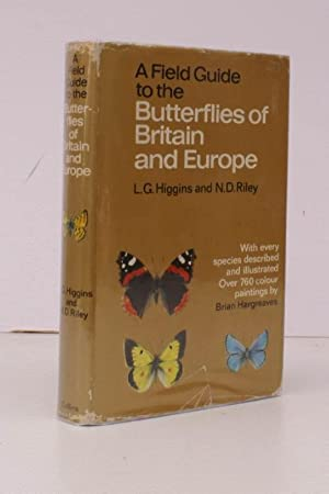 Butterflies of Britain and Europe. With Illustrations in Colour by Brian Hargreaves. BRIGHT COPY IN...