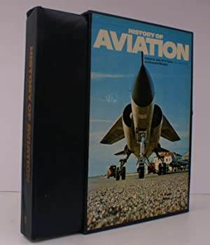 History of Aviation. BRIGHT, CLEAN COPY IN PUBLISHER'S SLIP-CASE: John W.R. TAYLOR and Kenneth...