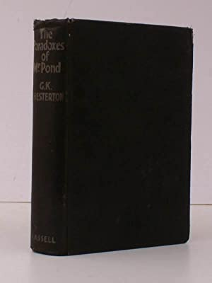 The Paradoxes of Mr. Pond. GOOD, FIRM COPY OF A SCARCE CHESTERTON: G.K. CHESTERTON