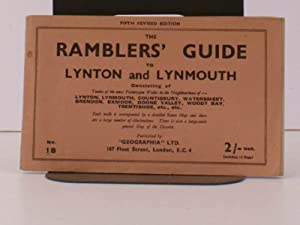 The Ramblers' Guide to Lynton and Lynmouth. Fifth Revised Edition. BRIGHT, CLEAN COPY IN ...