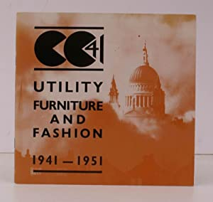 Utility Furniture and Fashion 1941-1951. 24 September to 29 December 1974. FINE COPY: GEFFRYE ...