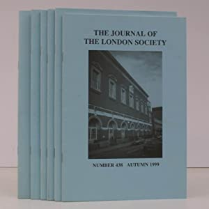 The Journal of The London Society. Nos 438-443 inclusive. FINE RUN: LONDON SOCIETY