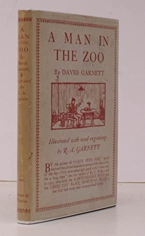 A Man in the Zoo. Illustrated with Wood Engravings by R.A. Garnett. BRIGHT, CLEAN COPY IN UNCLIPPED...