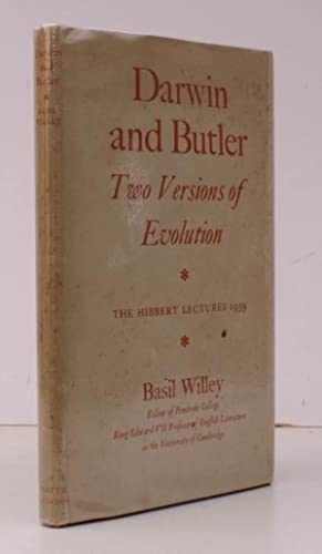 Darwin and Butler. Two Versions of Evolution. The Hibbert Lectures 1959. BRIGHT, CLEAN COPY IN ...