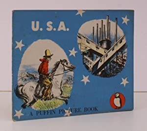 USA [The Story of America]. A Puffin Picture Book. NEAR FINE COPY: James HOLLAND and Hazel Hunkins ...