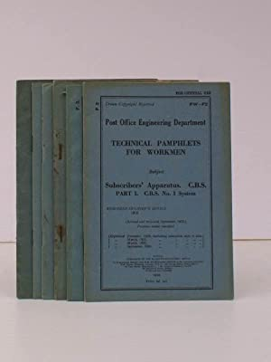 Technical Pamphlets for Workmen. [Group F]. [GOOD COLLECTION, WANTING TWO VOLUMES]. BRIGHT ...