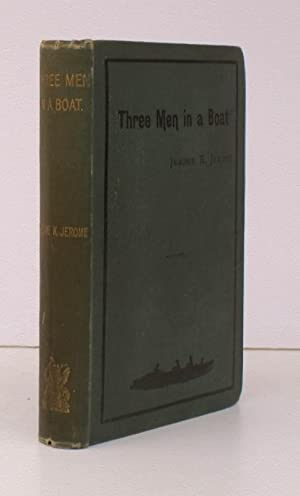Three Men in a Boat (to say Nothing of the Dog). Illustrations by A. Frederics. BRIGHT, CLEAN COPY ...
