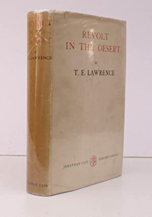 Revolt in the Desert. THE ORIGINAL EDITION IN UNCLIPPED DUSTWRAPPER: LAWRENCE of ARABIA). T.E. ...