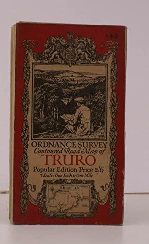 Ordnance Survey Contoured Road Map of Truro and St. Austell. Sheet 143. Popular Edition. Scale: One...