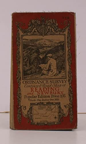Ordnance Survey Contoured Road Map of Reading and Newbury. Sheet 113. Popular Edition. Scale: One...