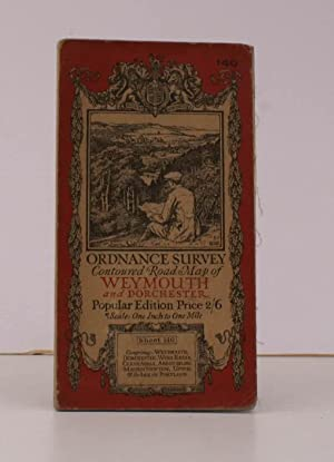 Ordnance Survey Contoured Road Map of Weymouth and Dorchester. Sheet 140. Popular Edition. Scale: ...
