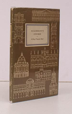 Ackermann's Oxford. With Notes by H.M. Colvin.: Rudolph ACKERMANN). H.M.