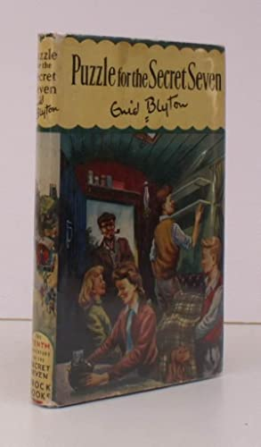 Puzzle for the Secret Seven. Illustrations by Burgess Sharrocks. [Second Impression]. BRIGHT COPY...