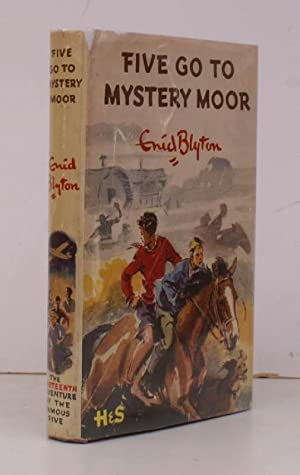 Five go to Mystery Moor. Illustrations by Eileen Soper. [Fifth Impression]. BRIGHT COPY IN UNCLIP...