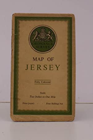 Ordnance Survey Map of Jersey. Scale: Two Inches to One Mile BRIGHT, CLEAN COPY