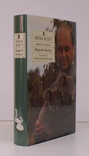 Peter Scott. Painter and Naturalist. With an Introduction by Sir David Attenborough. SIGNED BY PH...