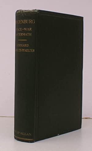 Hindenburg. Peace. War. Aftermath. Translated by Christopher R. Turner. [First English Edition]. ...