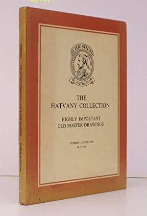 [Sale Catalogue of] The Hatvany Collection. Highly Important Old Master Drawings. 24 June 1980. S...