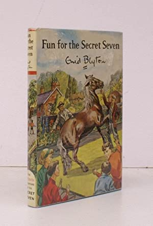 Fun for the Secret Seven. Illustrations by Burgess Sharrocks. NEAR FINE COPY IN UNCLIPPED DUSTWRA...