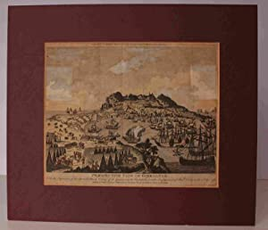 Perspective View of Gibraltar with the the Disposition of the Spanish Attack, and Relief of the ...