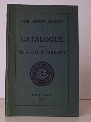 Catalogue of the Museum & Library. The Bronte Society.: BRONTE SOCIETY). J.A. SYMINGTON