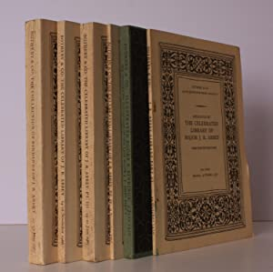 Sale Catalogues of] The Celebrated Library of Major J R Abbey [Parts 1-6 only]. [Parts 1-5 ...