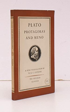 Protagoras and Meno. Translated with an Introduction by W.K.C. Guthrie. FIRST APPEARANCE IN PENGU...