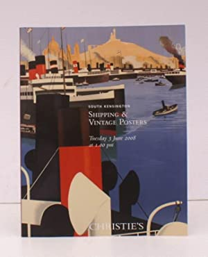 [Sale Catalogue of] Shipping and Vintage Posters. 3 June 2008. Sale Code: AND-5398. FINE COPY