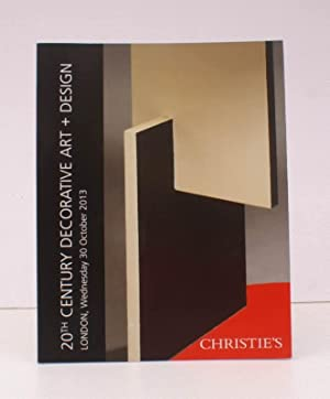 [Sale Catalogue of] 20th Century Decorative Art and Design. 30 October 2013. Sale Code: IMOGEN-11...