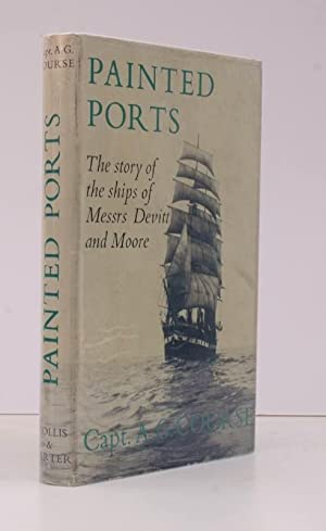 Painted Ports. The Story of the Ships of Devitt & Moore. NEAR FINE COPY IN DUSTWRAPPER
