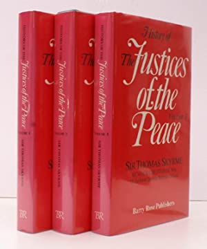 History of The Justices of the Peace. FINE SET IN UNCLIPPED DUSTWRAPPERS