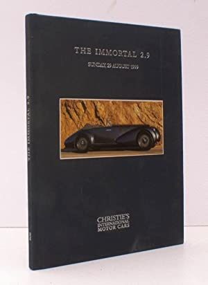 The Immortal 2.9. [Sale Catalogue]. 1937 Alfa Romeo 8C 2900B. Chassis No. 412012. Pebble Beach, 2...