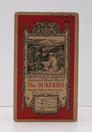 Ordnance Survey Contoured Road Map of The Dukeries. Popular Edition. Sheet 46 Scale: One Inch to ...